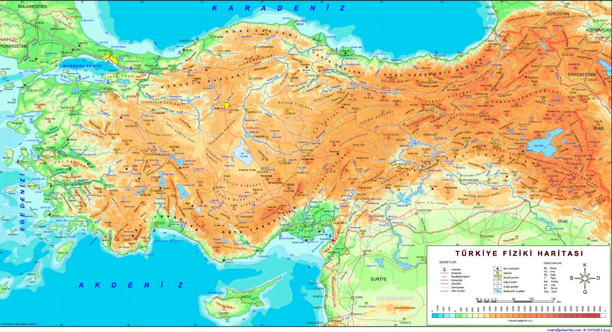 Türkiye'de Yer şekillerinin Genel Özellikleri 2