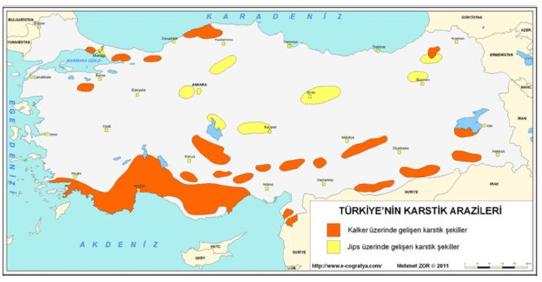 Türkiye'de Dış Kuvvetler ve Oluşturduğu Yer Şekilleri 16