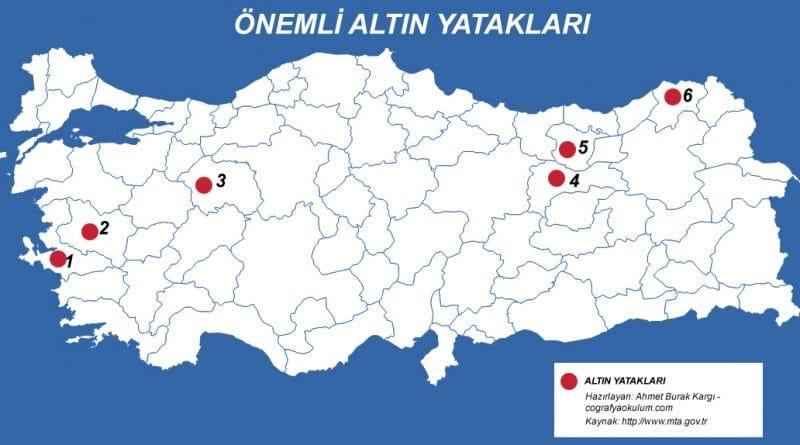 Türkiye'de Altın Çıkarılan Yerler 11