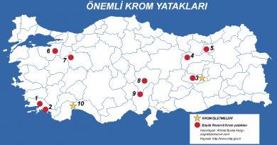 Türkiye'de Krom Nerede Çıkarılır ve Krom İşletmeleri 2