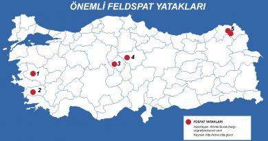 Türkiye'de Feldspat Madeni 4