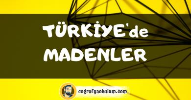 Türkiye'de Madenler (Tüm Madenler) 3