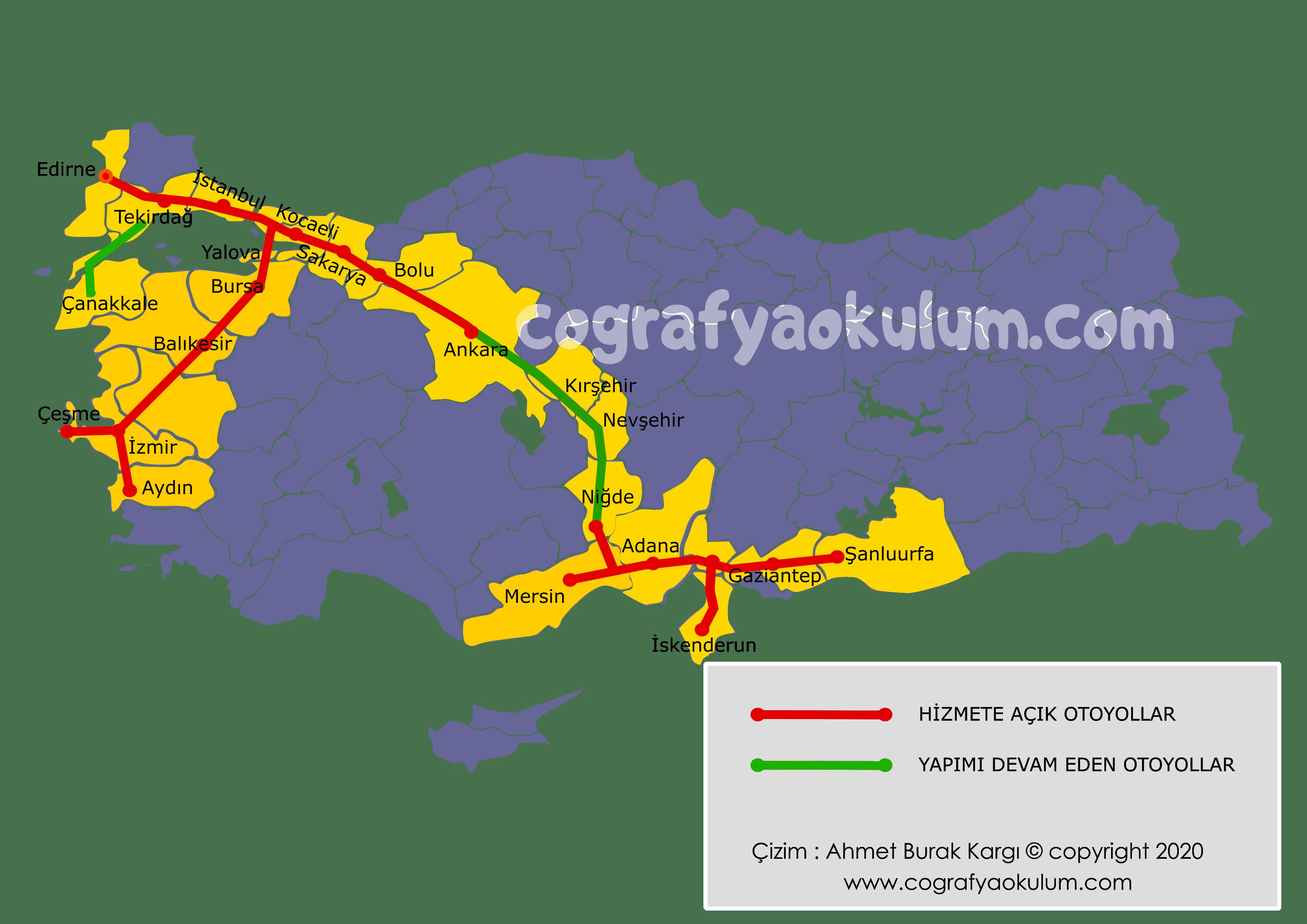Türkiye'de Karayolu Ulaşımı (2020) 1